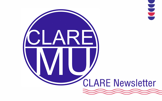 CLARE #2021 Q1 eNewsletter is out!
