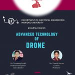 """"""" Advance Technology of Drone"""" by our Guest speaker, Mr. Teerapong Sookjit"""