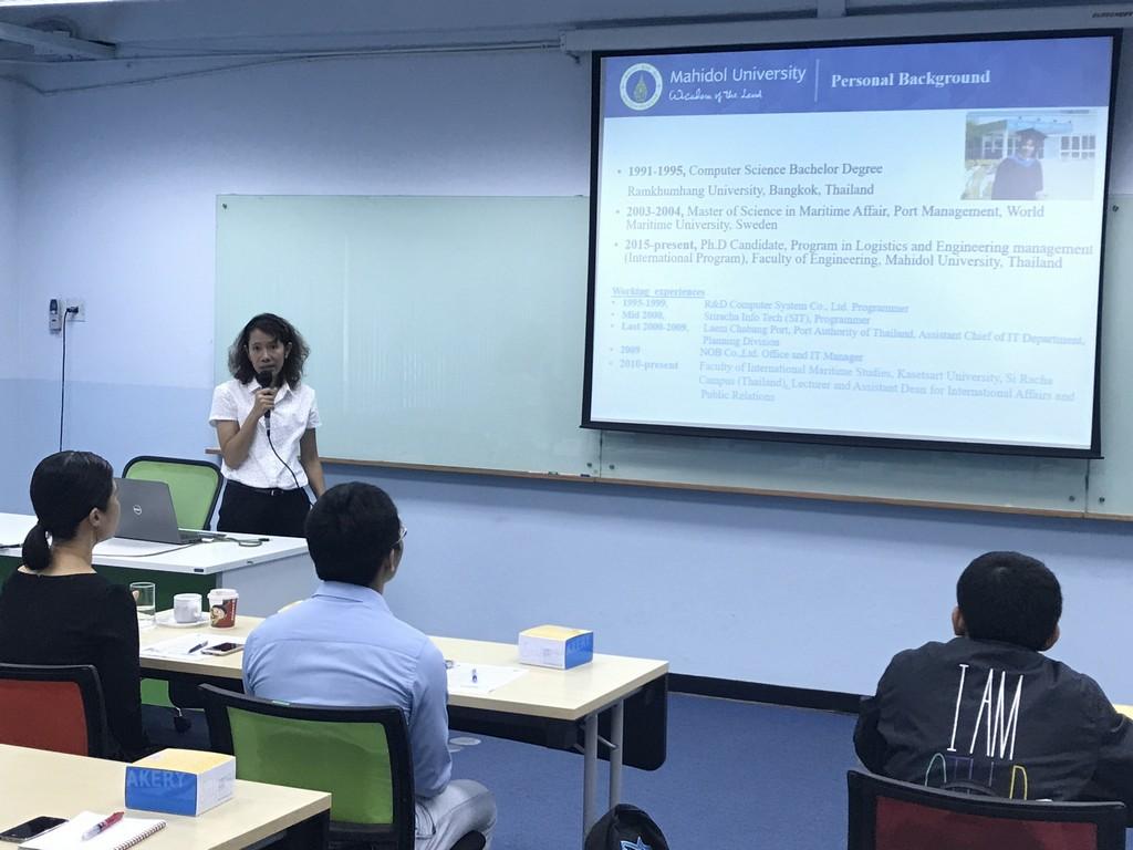 Mahidol Engineering organised Sustainability, Healthcare ...