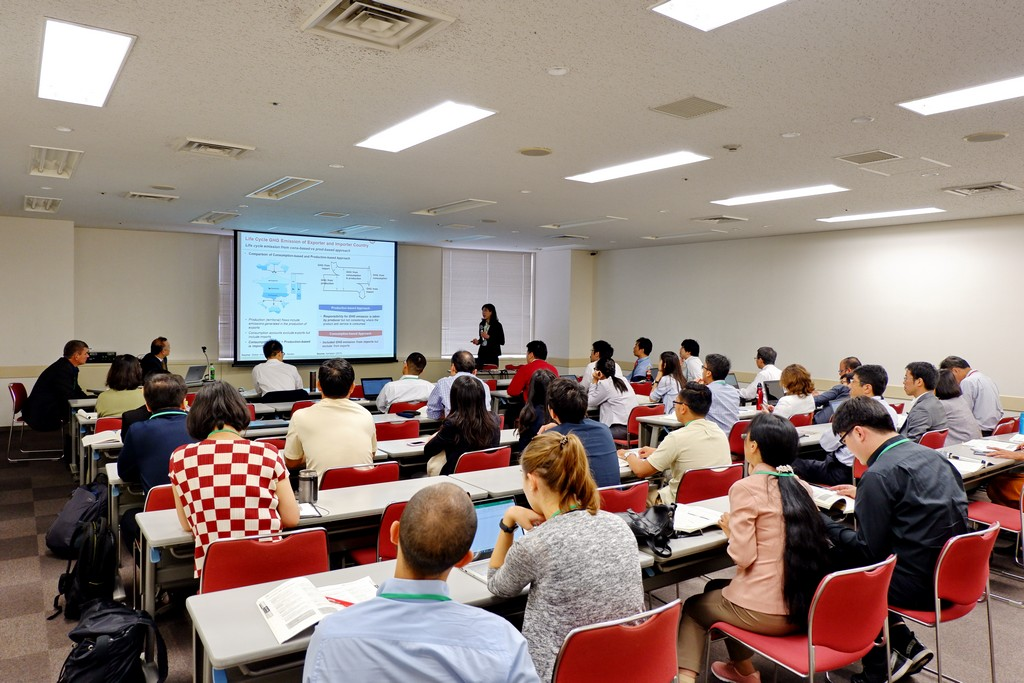 Mahidol Engineering EcoLab and RCLCA at EcoBalance 2018 in Japan