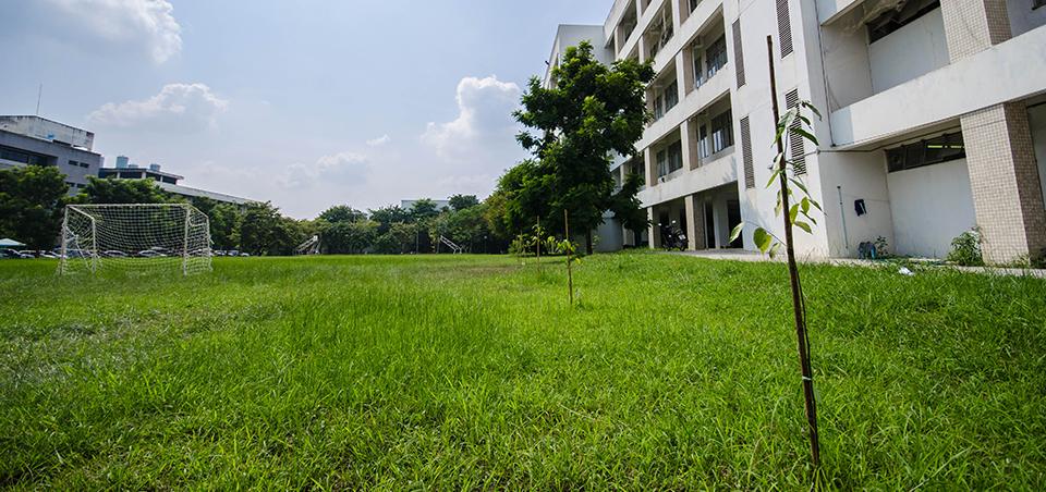 ปลุกต้นไม้  สร้างพื้นที่สีเขียวให้วิศวะ รักษ์สิ่งแวดล้อม